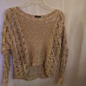 APT. 9 Crochet Sweater